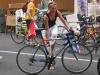 Sabine beim Bike Check-In