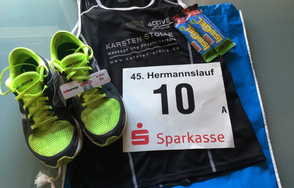 Hermannslauf 2016 – Startnummer 10
