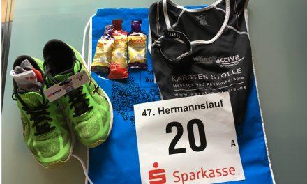 Hermannslauf 2018 – Silberhochzeit